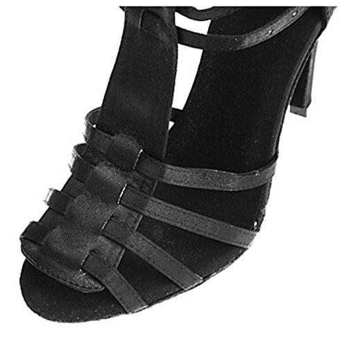 Miyoopark ,  Damen Tanzschuhe Black-10cm heel