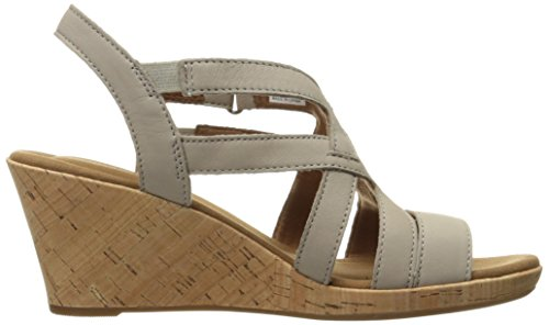 Rockport - Briah Caged Chaussures pour femmes New Taupe Nu