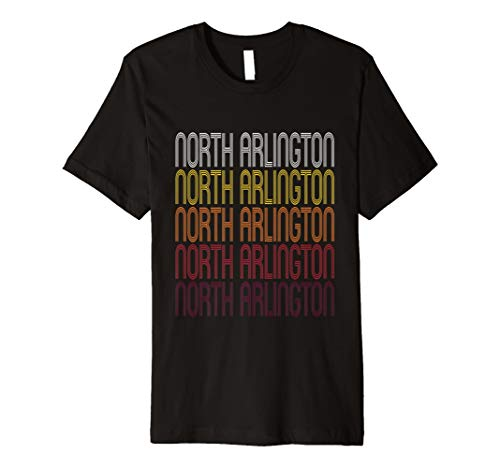 North Arlington, Nj (North Arlington, NJ | Vintage Style New Jersey T-shirt)