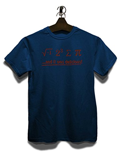 It Was Delecious T-Shirt Navy Blau