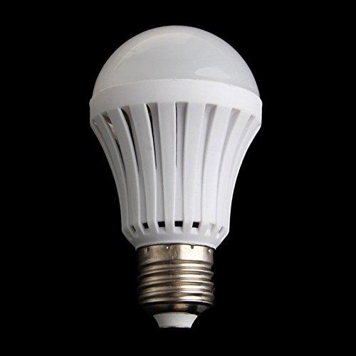 E27 Lichtsensor Lampe Smart Glühbirne Auto On/Off Led Sprachsteuerung Glühbirne Lampe Indoor Outdoor Sensor Nachtlicht Für Veranda Flur Terrasse Garage (Warmes Licht, - Sensor Garage Licht