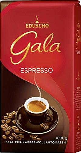 Preisvergleich Produktbild Eduscho - Gala Espresso Kaffe Röstkaffee Café - 1kg