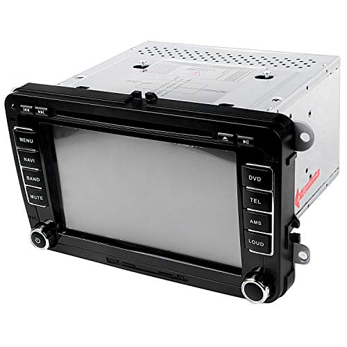 REFURBISHHOUSE 7 Zoll Hd Digital Touchscreen Auto DVD Player Auto Hd Radio Auto Pc Stereo Head Unit GPS Navigation Multimedia Für Sagitar Jett Passat Cc Skoda -