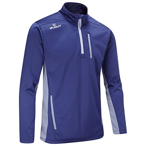 Stuburt 2017 Mens Endurance Sport Half Zip Fleece Pullover – Midnight – L