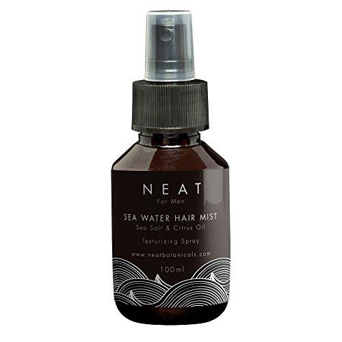 Nutrition cheveux Neat Sea Salt Hair Mist   Produit cheveux homme et Sea salt spray   Huile cheveux 100ml   Alternative au gel cheveux homme