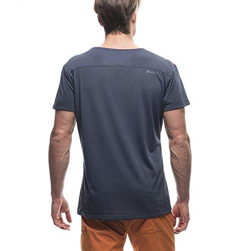 Houdini T-shirt da uomo M'S Rock Steady Blu - Kon Blue