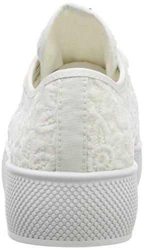 ESPRIT Damen Barbie Embro Sneaker Weiß (White)