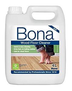 limpiar tarima flotante: Bona WM740119012 - Recambio Limpiador de suelos de Parquet y Madera (4 L)