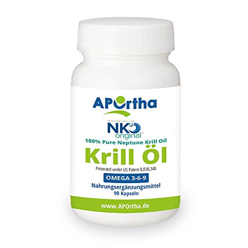 Aportha Original Neptun Nko Premium Krilll 500 Mg 90 Kapseln Mit Omega 3 Und Astaxanthin
