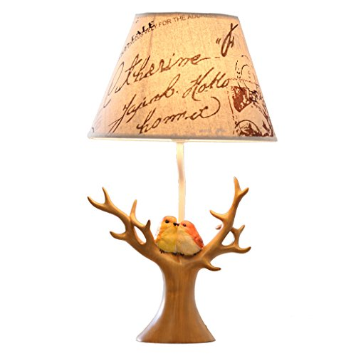 Tischlampe, Baumzweige und kleine Vogel Lichter E27 romantische dekorative Kunst Nachtlichter können Schmuck Regale und Geschenke Lichter