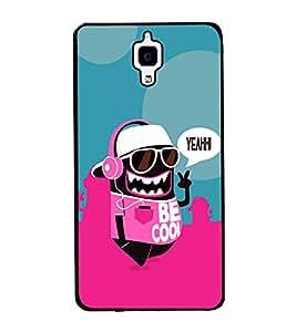 printtech Cool Cartoon Swag Back Case Cover for Xiaomi Redmi Mi4 , Xiaomi Mi 4
