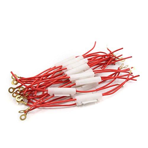 KaariFirefly 50/pcs Break-Free /électrique Rapide Splice Fil de connecteurs de c/âble Bornes Clip/ /Rouge