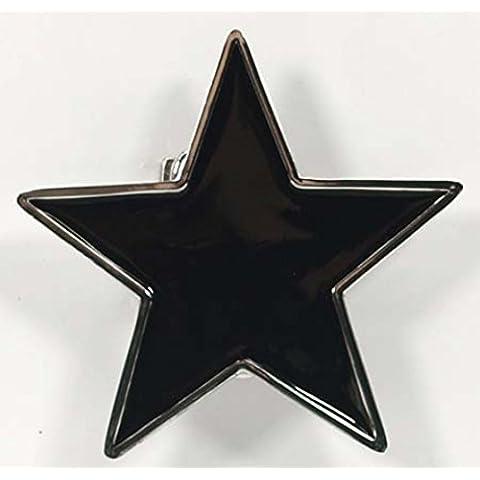 Hebilla con negra Tatuaje Estrella, Hebilla