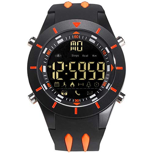 Reloj de los deportes al aire libre los hombres inteligentes digital resistente al agua Reloj Bluetooth...