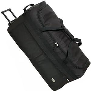 Karabar Extra Large 34 Inch Wheeled Holdall Black