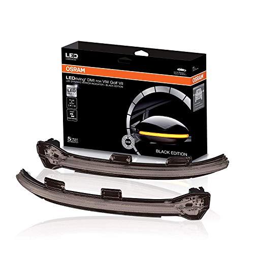 OSRAM LEDriving Dynamische LED Spiegelblinker Blinker Golf 7 Touran 2 e-Golf Schwarz DMI Dynamic Mirror Indicator Black/Smoke LEDDMI-5G0-BK-S - 2013 Golf-fahrer