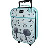 Valigia per Bambini Valigia Trolley Bagaglio a Mano Borsa Disney Mickey Mouse