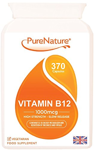vitamin-b12-double-strength-12-month-supply-370-slow-release-easy-to-swallow-1000mcg-veggie-capsules