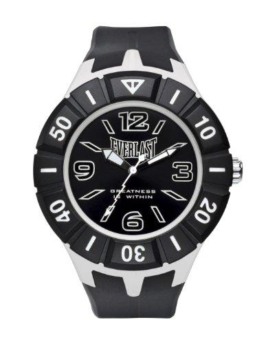 Bernex EV-217-004 - Reloj analógico unisex de plástico Resistente al agua negro