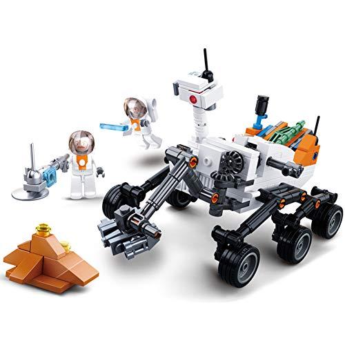 Yyz Raumschiff Serie Tech Neugierig Detektor Auto 5 Saturn Lange März Rakete Raumschiff Baustein Spielzeug Modell Kompatibel Geburtstagsgeschenk (Polizei-detektor Für Auto)