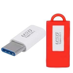 Type C USB Adaptateur, Susenstone OnePlus USB Type C Adaptateur Chargeur Convertisseur pour Oneplus 2 Deux Nexus 6P/5 X