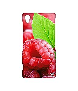 Vogueshell Cherry Printed Symmetry PRO Series Hard Back Case for Sony Xperia Z2