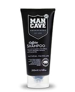 ManCave Natural Caffeine Shampoo 200ml