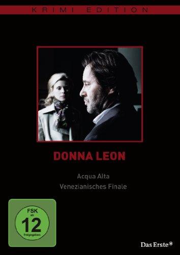 Donna Leon - Acqua Alta / Venezianisches Finale (Krimi-Edition)