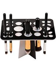 CkeyiN® Mode 26 trous Acrylique Arbre pinceaux de maquillage titulaire pour Sécher Pinceaux de Maquillage