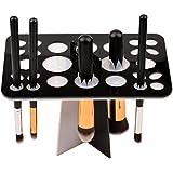 CkeyiN® Oraganizador Maquillaje Secador Profesional para Pinceles y Brochas de Maquillaje (Negro)