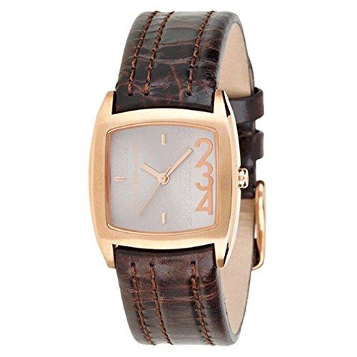Adolfo Dominguez Watches 690281 - Reloj de Señora Cuarzo Correa Piel Marrón