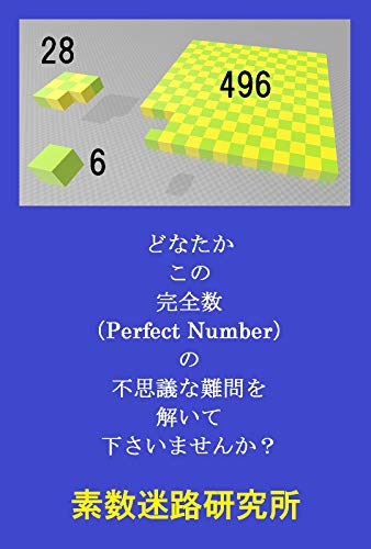 Could you please solve this Perfect Number Problem (Japanese Edition) por Prime Number Maze Research Institute