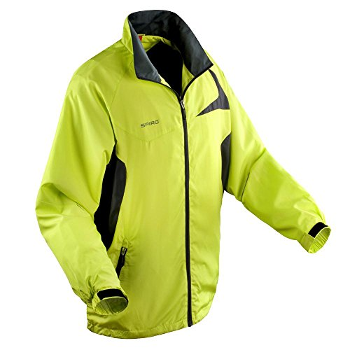Spiro -Unisex Micro Lite Jacket Black/Red