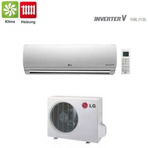 41R VAas4FL. SS500  - LG Split unit DC Inverter P18EL 5kW up to 164 ft² Complete set