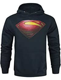 Superman Man Of Steel Hommes Sweat À Capuche