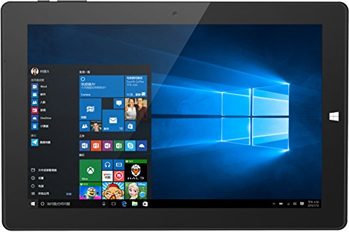 CHUWI Hi10 Tablette Intel Cherry Trail Z8350 PC 10,1 Zoll Display 4GB RAM + 64GB ROM 1920 * 1200 HD Auflösung WLAN Dual Kamera 2.0 MP Windows10 Android 5.1 Bluetooth 4.0 Quad-Core Schwarz Ultrabook