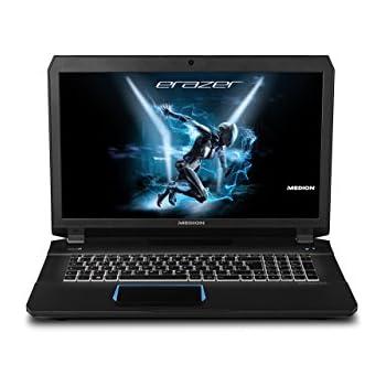 Medion Erazer X7841 MD 60008 43,9 cm (17,3 Zoll Mattes Full HD Display) Gaming Laptop (Intel Core i7-6700HQ, 8GB DDR4 RAM, 1TB HDD, 128GB SSD, Nvidia GeForce GTX 970M, Win 10) Schwarz