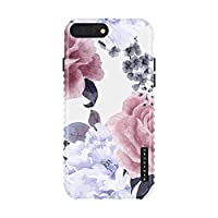Akna iPhone 8 Plus / 7 Plus case for girls, Charming Series Flexible Silicon Cover for both iPhone 7 Plus & 8 Plus [Floral Peony](803-U.K)