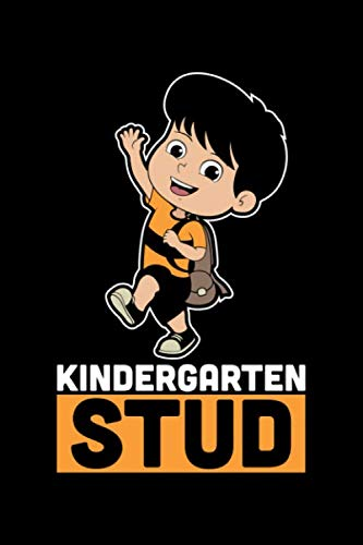 Kindergarten Stud: 100 Pages College Ruled Lined Blank Writing Notebook - 6