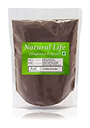 Natural Life (Organics & Seeds) Coffee Powder, 100 g