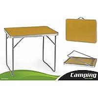Mesa Camping Plegable Aluminio 70x50x60cm