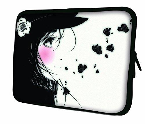 7.9Design ipad Mini/iPad Mini 2/iPad Mini 3Custodia morbida Borsa Pelle. Vestibilità perfetta. Diversi modelli disponibili. (parte 1di 3) Manga Girl