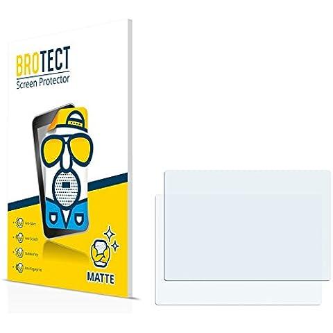 2x BROTECT Matte Protector Pantalla para GoPro Hero 4 Black LCD Touch BacPac Protector Mate, Película