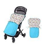 Per Colchonetas Silla de Paseo Universales para Bebés Saco de Abrigo Multifuncional para Cuatro Estaciones Cojines para Carrito Infantil