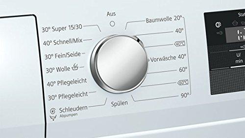 Siemens iQ300 WM14N040 Waschmaschine / 6,00 kg / A+++ / 137 kWh / 1.400 U/min / Schnellwaschprogramm / Nachlegefunktion / aquaStop mit lebenslanger Garantie / - 7