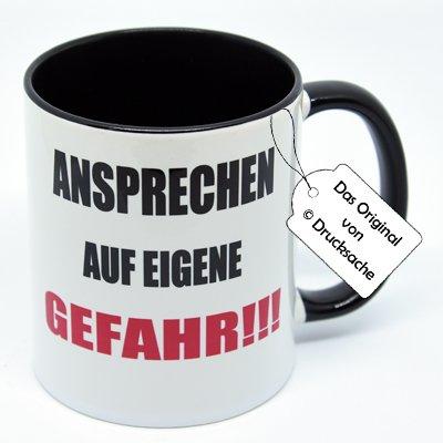 Spruchtasse Funtasse Kaffeebecher Henkelbecher Tasse mit Spruch Teetasse Kaffeetasse Tasse mit...