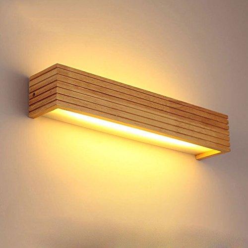 Sheen Moderne Nordeuropa Holz Lichter-wandleuchte,Led 8w 12w Hardwired Erröten-einfassung Einfachheit Wandlampe Schlafzimmer Bett Salon Veranda Leuchtmittel-35cm-8W (Wand Swing-lampe)