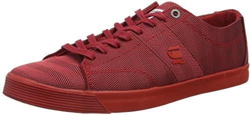 G-STAR RAWDex Mono - Scarpe da Ginnastica Basse Uomo , rosso (rosso (rosso)), 45 EU