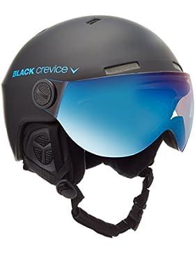 Black Crevice Casco de Esquí Gstaad Negro / Azul S (51-53 cm)
