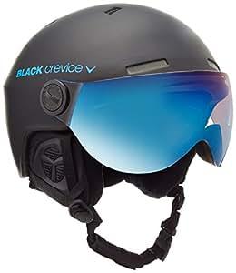 Black Crevice 143921-Bb-2 - Casco Da Sci Gstaad, M/L, Colore: Nero/Blu